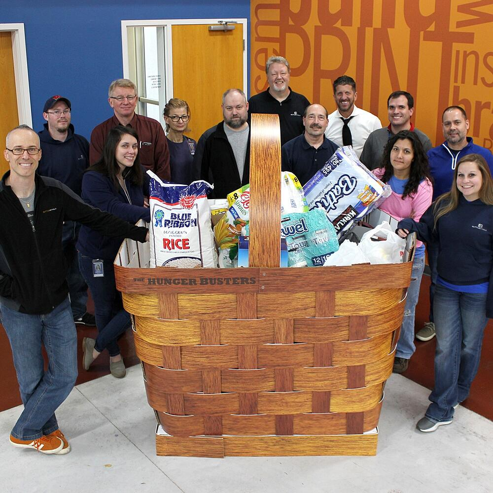 Food Drive Basket