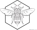 Bee-Freebie-Outlined