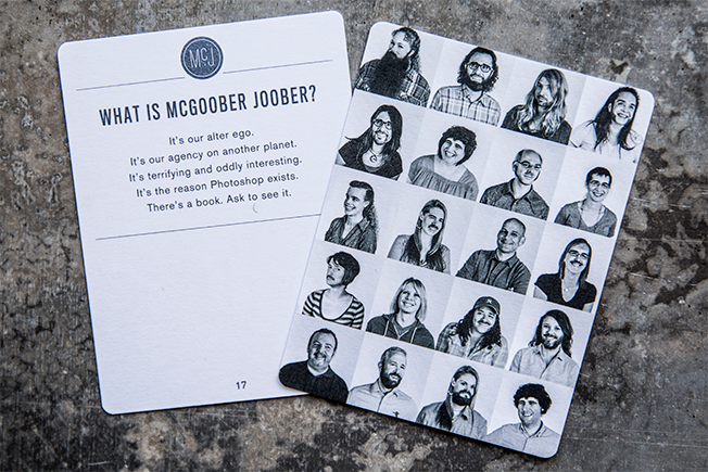 McGarrah Jesse cards via Adweek